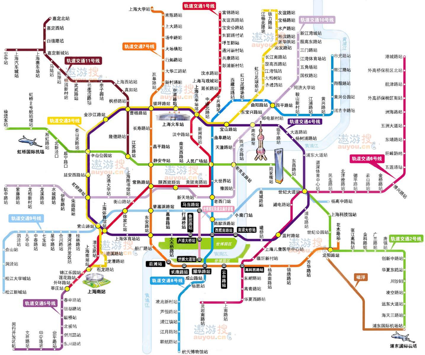 上海市地铁线路图   2015年规划图 7.上海   管理员日志